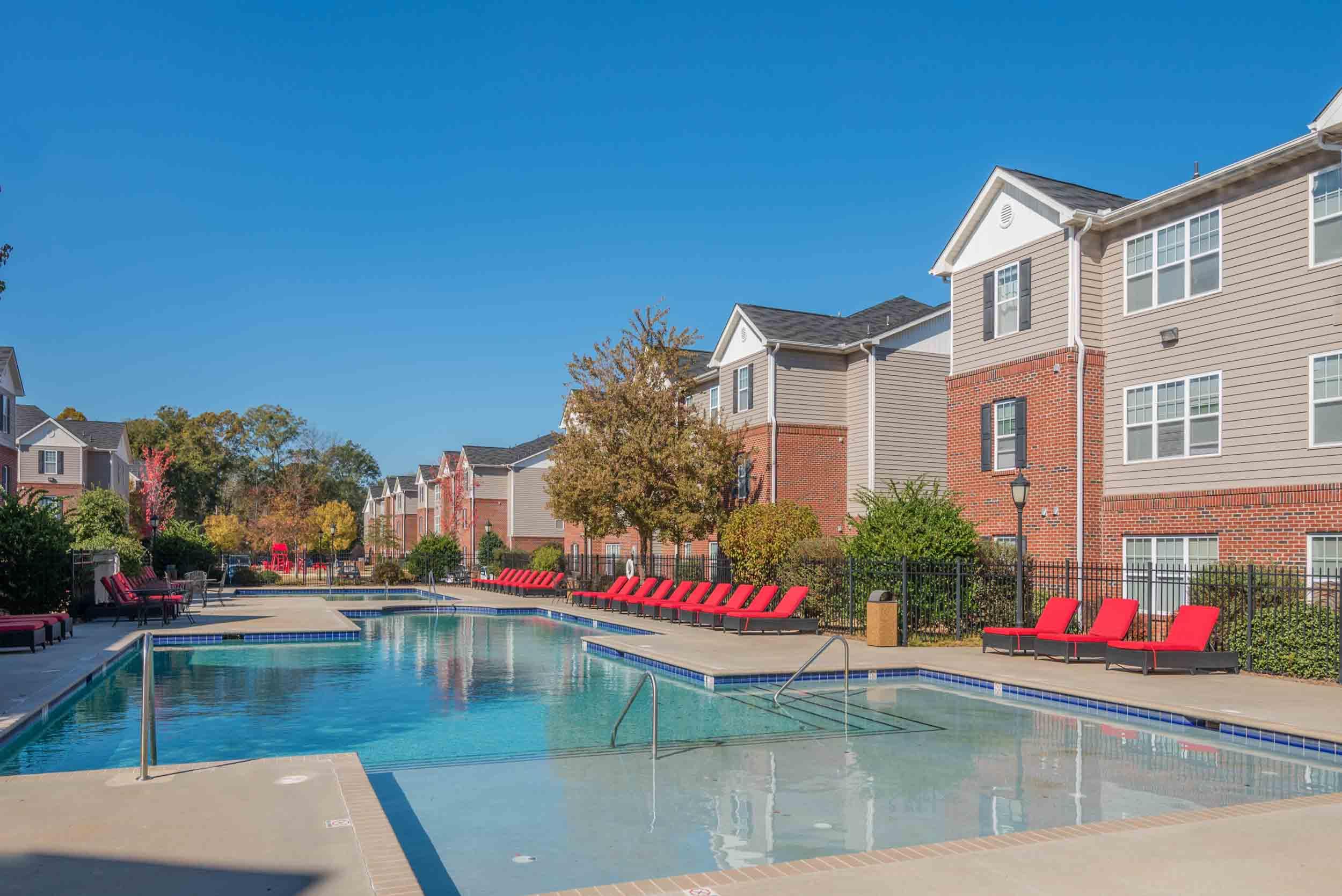 Luxury pool for UWG students
